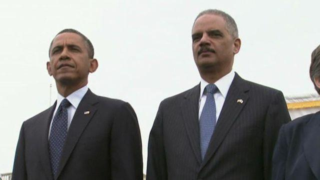 Holder losing the confidence of the West Wing?