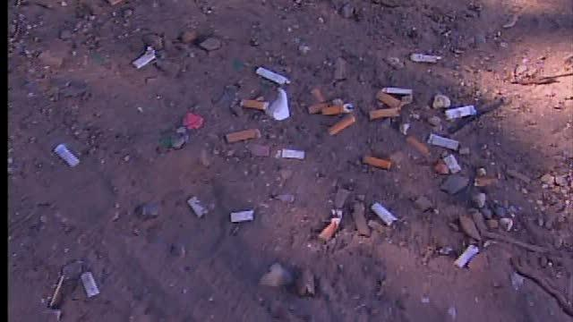 Residents complain about smokers