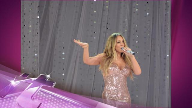 Entertainment News Pop: Mariah Carey's Performance Gets Sweetened For The West Coast Airing Of Good Morning America