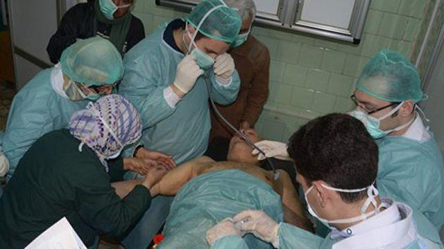 Concerns mount over reported chemical weapons use in Syria