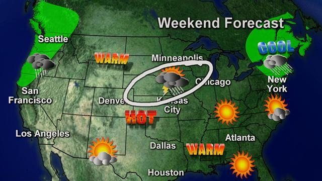 What to expect from Memorial Day weekend weather