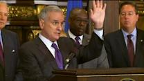 Web Extra: Gov. Dayton, Super Bowl Bid Committee Press Conference (Part 1)