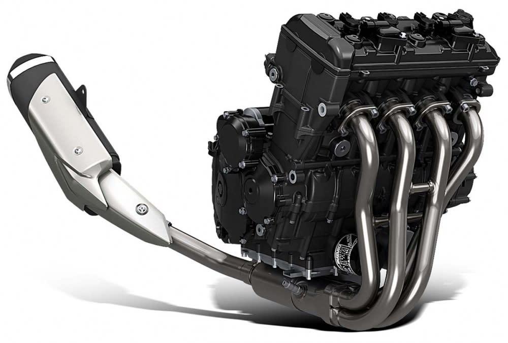 以GSX-R750調校而來的引擎。