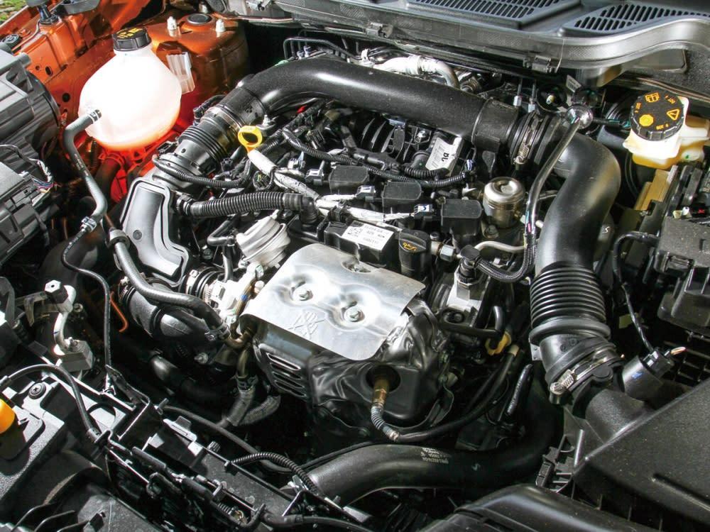 EcoSport EcoBoost搭載的動力心臟從2012到2017年間連續蟬聯國際引擎大賞1.0升以下最佳引擎級距冠軍。