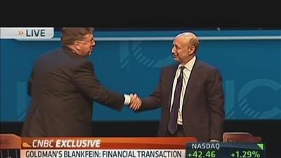 Blankfein on Legacy of Financial Crisis