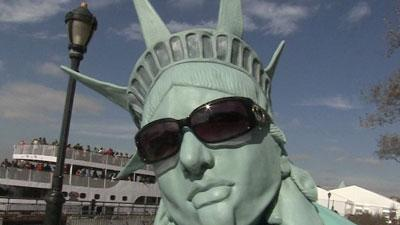 New York Opens Statue of Liberty