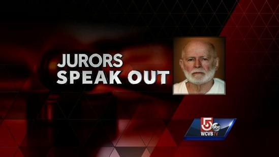 Whitey Bulger jurors speak about tension in deliberations
