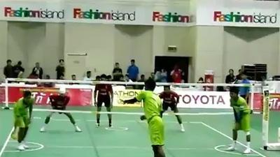 Kung Fu Soccer Volleyball
