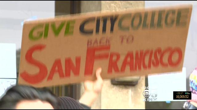 Officers Injured In SF City College Protest Scuffle