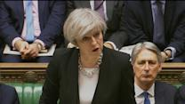 UK prime minister: 'We are not afraid'