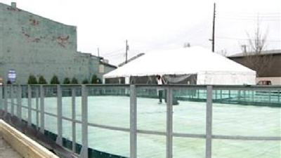 Temporary Skating Rink Opening In Jeffersonville