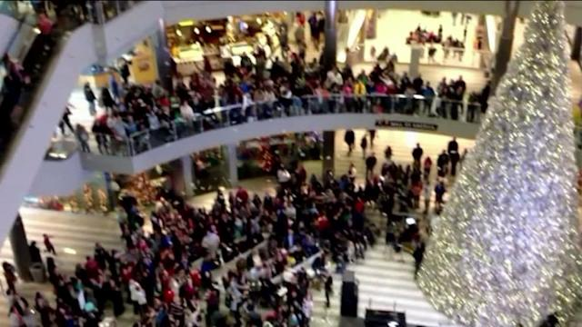 Man arrested for throwing money in Mall of America