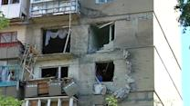 Shelling hits two residential buildings in Donetsk