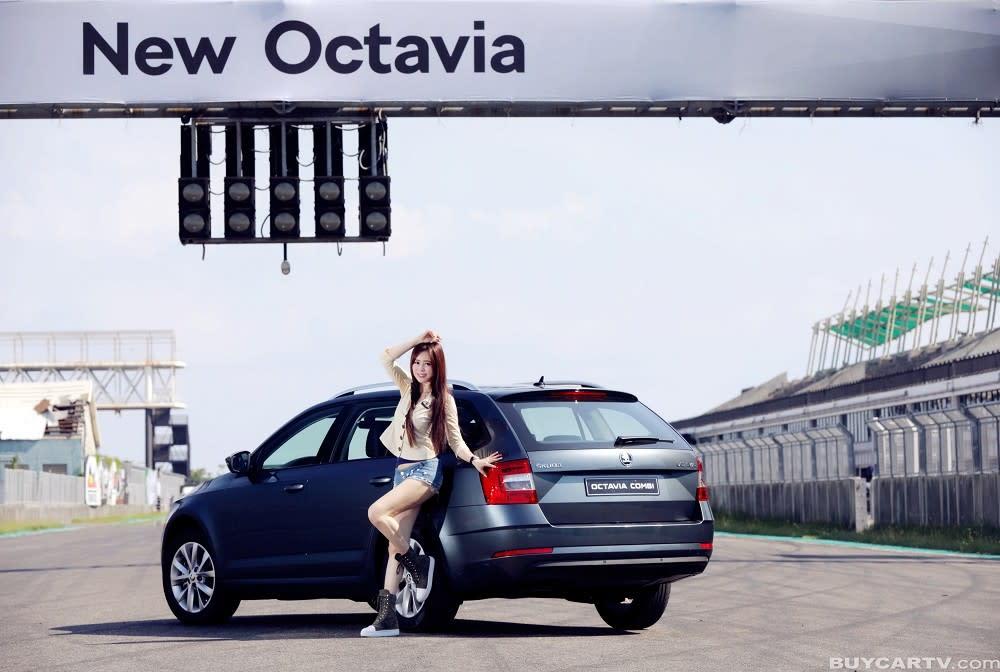 【♀ 冠儀試車日記】CP值破表的歐系旅行車 SKODA OCTAVIA COMBI 1.0TSI