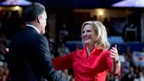 Romney ready to claim prize, wife argues case