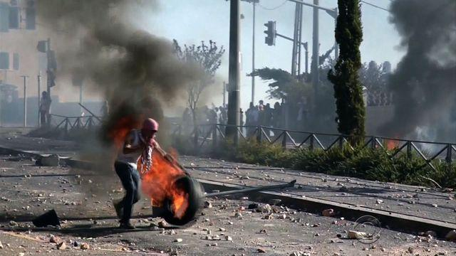 Violent clashes continue over Palestinian teen's death