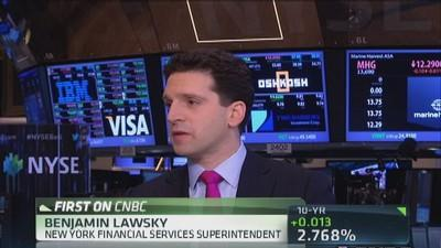 Bitcoin potentially holds a lot of promise: Lawsky