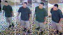 Suspected wedding thief caught on camera may be a serial crasher