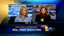 Police look for shooter who injured Walmart employee