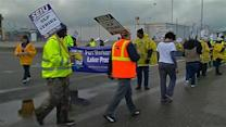 Strike disrupts activity at Port of Oakland