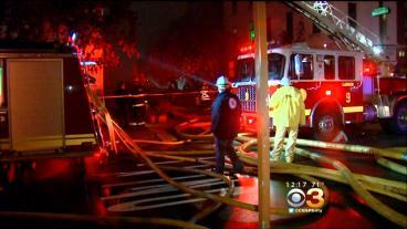 Suspected CO Leak Leads To Fire, Explosion In Center City