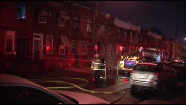 3 injured in North Phila. house fire