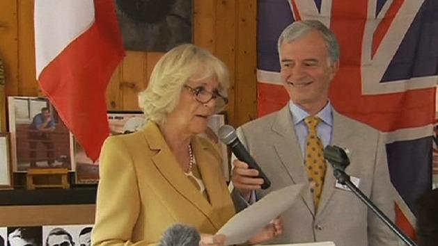 Camilla makes official overseas trip solo