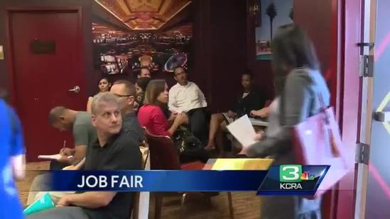 Employment fair at Thunder Valley Casino attracts job seekers