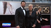 Hugh Jackman's Wife Says He's Not Allowed to Work With Angelina Jolie