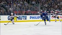 Phil Kessel snaps one five-hole by Miller