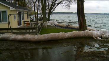 High Water Levels On Green Lake Threaten Isanti Co. Residents