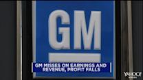 GM heads in reverse; Facebook shares hit record high; Caterpillar sales disappoint