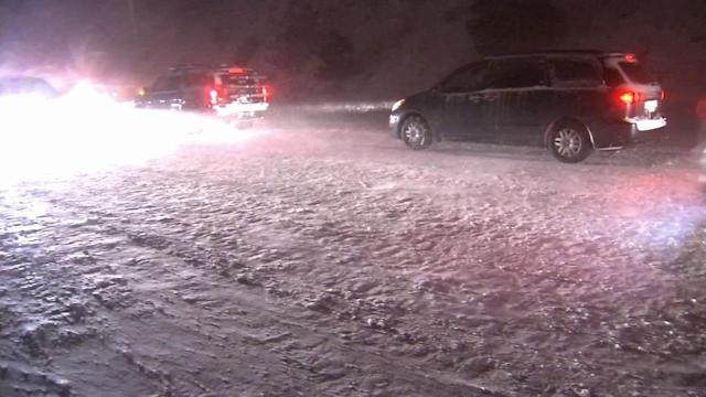 Southern California snow: More than 130 drivers rescued