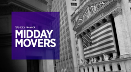 Yahoo Finance Live: Midday Movers - Jan 25th, 2018