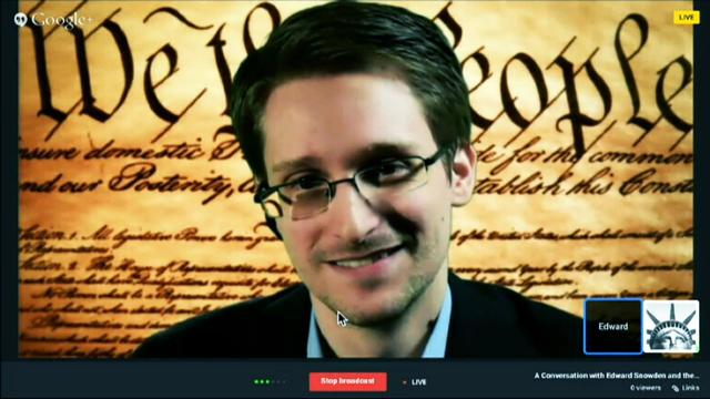 Snowden at SXSW: I would 'absolutely' do it again