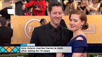 Amy Adams Gets Hitched