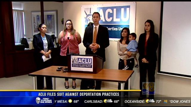 ACLU files suit against deportation practices