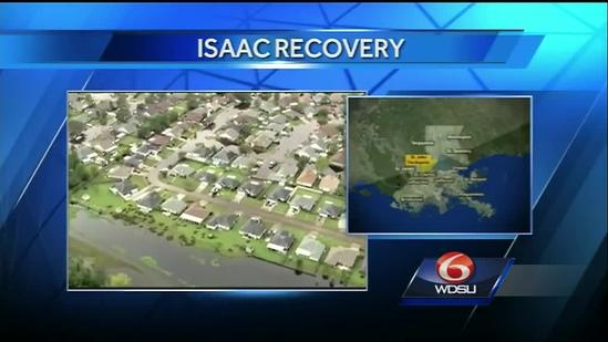 Recovery continues a year after Hurricane Isaac