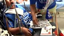 Kevin Durant visits disabled teen on birthday