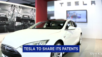 Tesla said it will share its patents