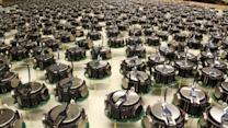 Harvard Unleashes Swarm of Robots