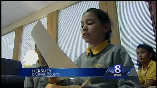 First Lady replies to letter from Milton Hershey students