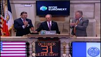 Bloomberg rings first post-Sandy opening bell