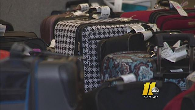 Luggage in limbo at RDU