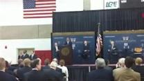 Raw Video: John Boehner Visits UofL