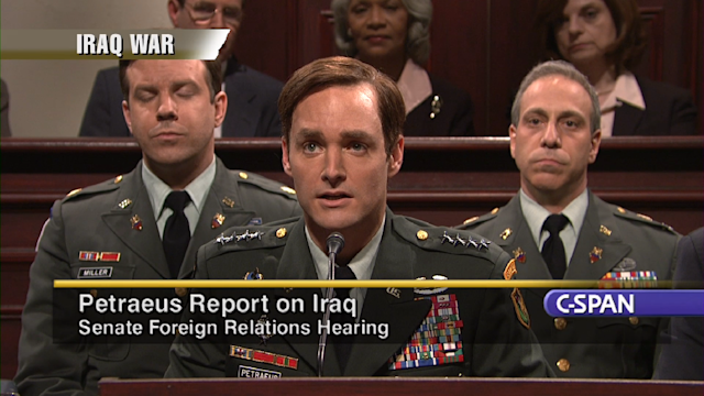 Cold Open: Petraeus Hearings