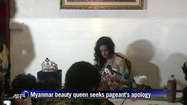 Dethroned beauty queen seeks apology before returning crown