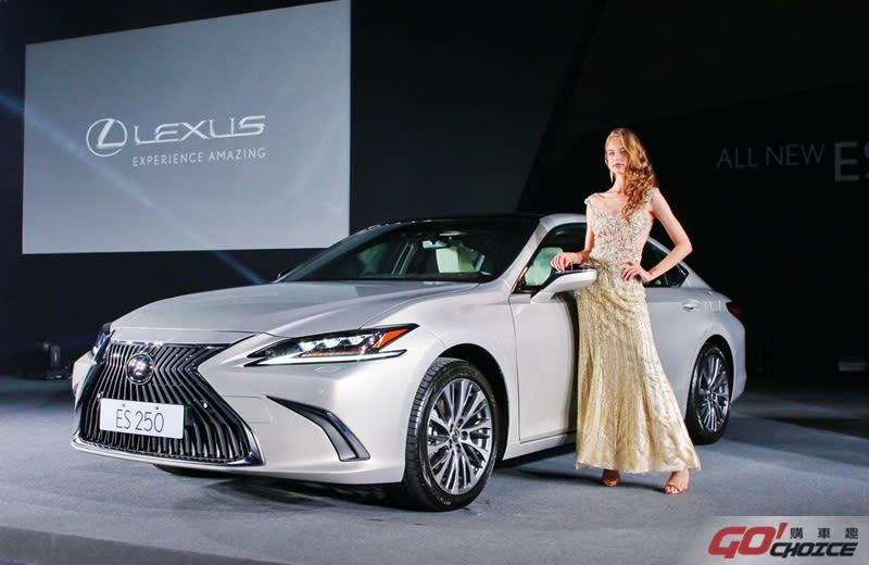 全新Lexus ES超規格豪華房車正式上市。