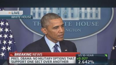 Pres. Obama: US combat troops will not fight in Iraq agai...