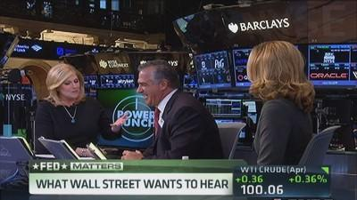 Wall St. needs to hear Fed's plan